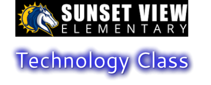 Sunset View's <br />​Technology Class